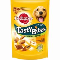 Pedigree tasty bites snacks pollo perro de 95g. en bolsa
