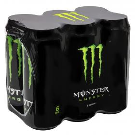 Monster refresco energy green de 50cl. por 6 unidades
