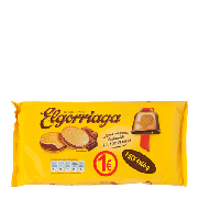 Elgorriaga galleta rellena chocolate de 60g. por 4 unidades