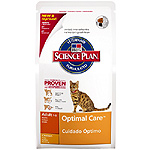Hill's Science plan adult optimal care alimento especial gatos adultos con pollo un cuidado optimo de 2kg. en bolsa