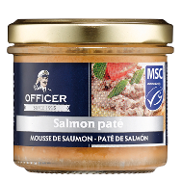 Officer pate salmon de 100g.
