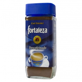 Fortaleza cafe soluble descafeinado de 200g.