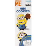 Maxies minions mini cookies de chocolate de 275g. en paquete