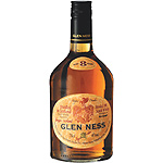 Glen Ness whisky escoces blended 8 años elaborado grupo corte ingles de 70cl. en botella