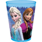 Frozen vaso decorado acrílico de 24cl.
