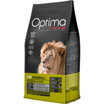 Optima nova hairball alimento gatos adultos con pollo arroz envase de 400g.