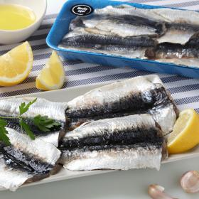 Carrefour filete sardina de 400g.