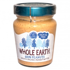 Whole Earth crema cacahuete de 227g.
