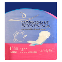 Deliplus compresa incontinencia mini absorcion 1 30