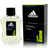 Adidas pure game eau toilette natural masculina de 10cl. en spray