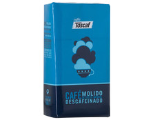 Toscaf cafe molido descafeinada natural de 250g.