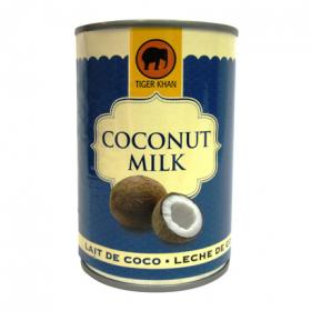 Tiger leche coco normal khan de 40cl. en lata