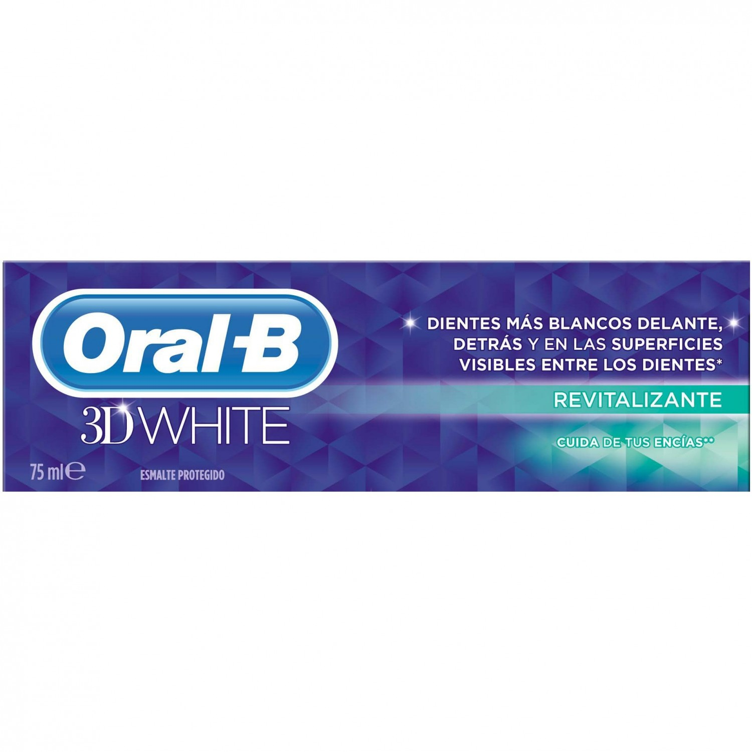 Oral B dentifrico 3d white revitalizante de 75ml.