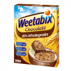 Weetabix cereal chocolate de 500g.