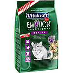 Vitakraft emotion beauty alimento premium chinchillas de 600g. en paquete