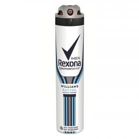 Rexona men desodorante williams racing 48h antitranspirante de 20cl. en spray