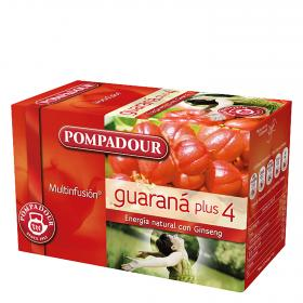 Pompadour infusion guarana 20