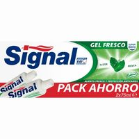 Signal dentifrico gel fresco de 75ml. por 2 unidades