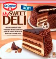 Dr Oetker pastel mousse choco