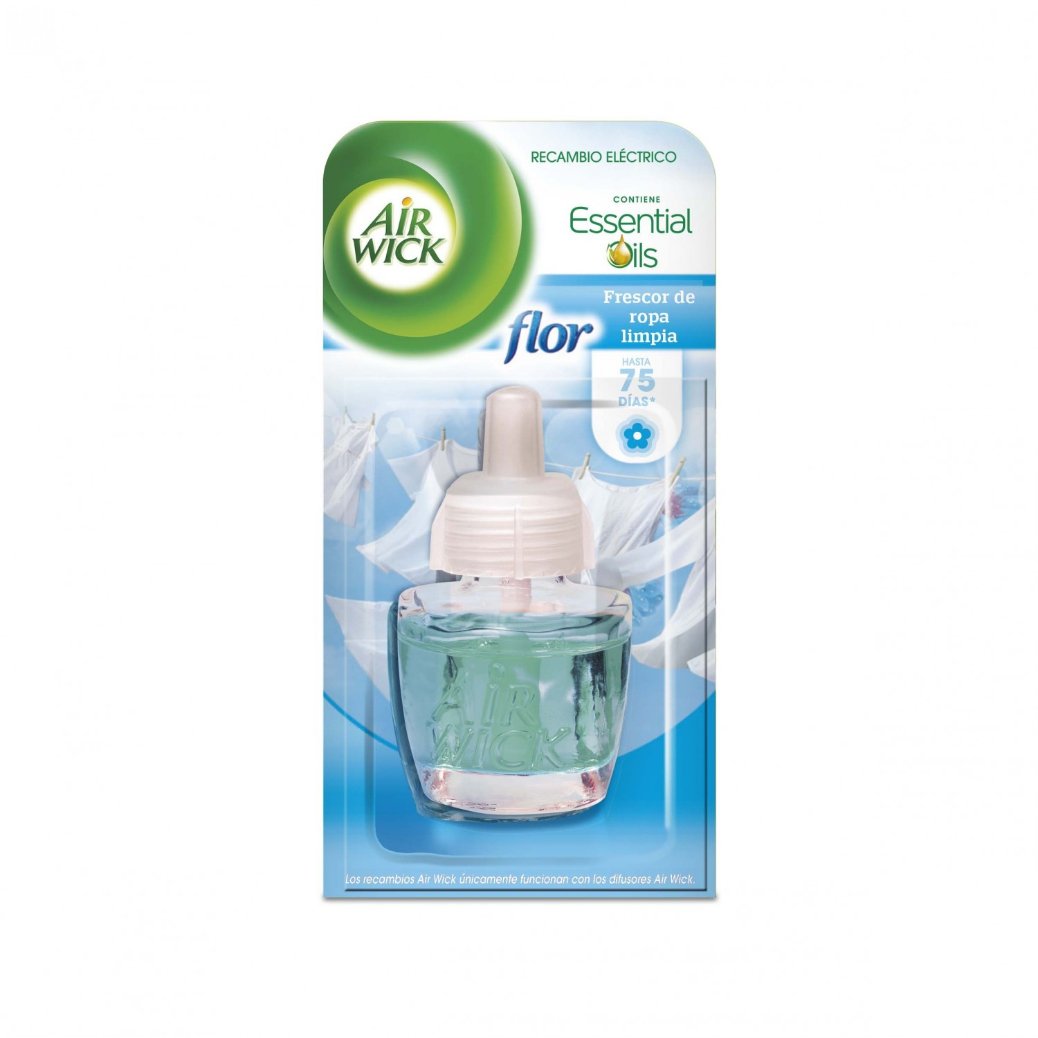 Air Wick ambientador fresh matic max recambio de 19ml.