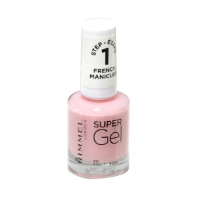Rimmel laca uñas super gel manicura francesa nº 091 english rose