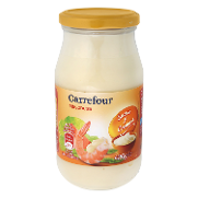 Carrefour mayonesa de 45cl.