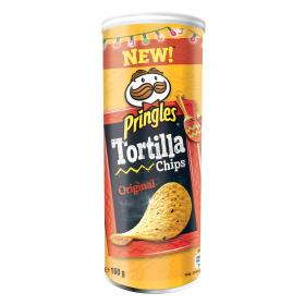 Pringles tortilla chips original de 160g.