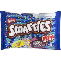 Smarties grageas colores con chocolate de 216g.