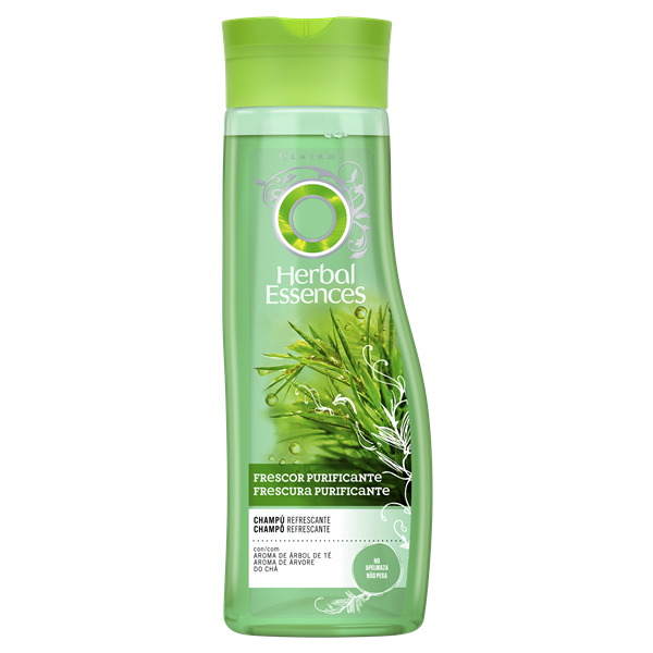 Herbal Essences champu refrescante con aroma arbol te de 40cl.