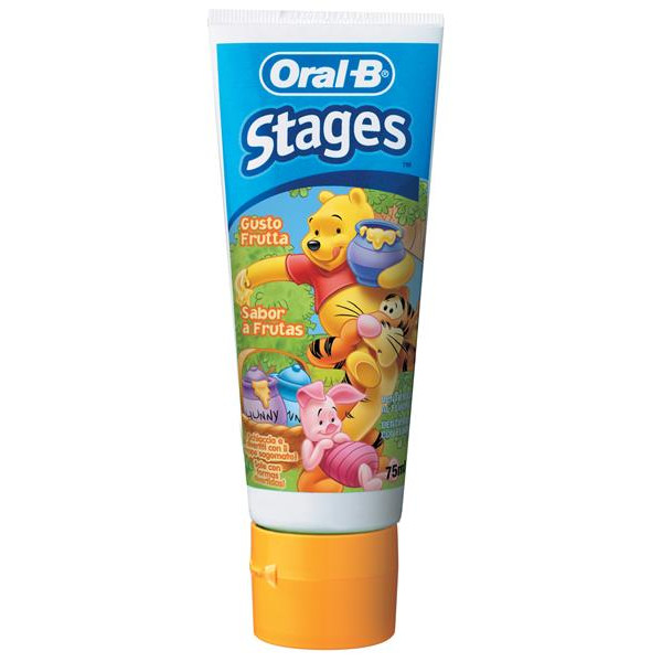 Oral B pasta dientes infantil stages2 2 5 a?os de 75ml.