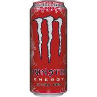 Monster refresco energy ultra red zero calorias de 50cl.