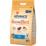 Advance duo mini alimento alta gama perro adulto raza mini con frutas pollo con arroz de 3kg.