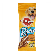 Pedigree snack rodeo pollo pedigree de 70g.