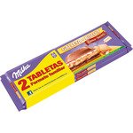 Milka choco swing chocolate con galleta tableta de 300g. por 2 unidades en familiar