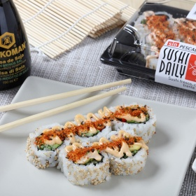 Sushi Daily spicy cali roll 177
