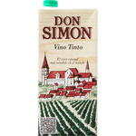 Don Simon vino tinto de 1l.