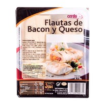 Jovi flautas bacon queso 2 de 276g.