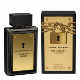 Antonio Banderas eau toilette golden secret vaporizador de 10cl.