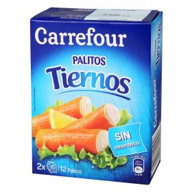 Carrefour palitos mar de 200g.