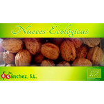 Sanchez nueces ecológicas de 600g. en tarrina