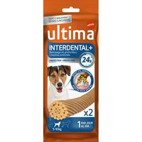 Ultima interdental dog snacks interd mini trial de 36g. por 22 unidades