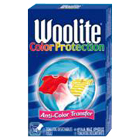 Woolite toallita atrapa color protection 10 en caja