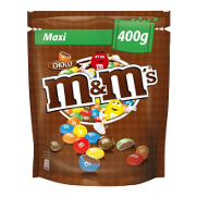 M&m's grageados chocolate de 400g.