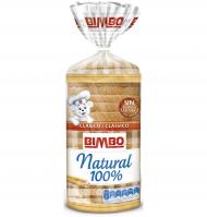 Bimbo pan molde natural 100% de 550g.
