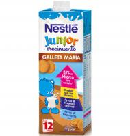 Leche junior crecim.galleta de 1l.