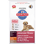 Hill's Science plan adult advanced fitness en plena forma alimento especial con cordero arroz perro grande de 12kg. en bolsa