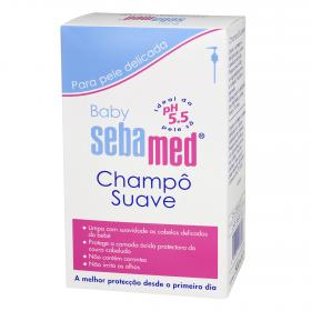 Sebamed champu suave piel delicada baby de 50cl.