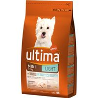 Ultima dog mini light de 1,5kg. en bolsa