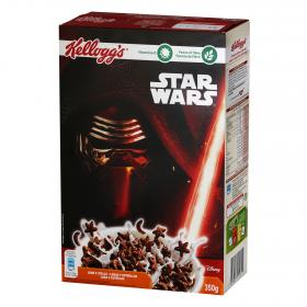 Kelloggs cereales chocolate especial star wars de 350g.