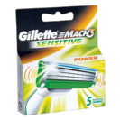 Gillette mach 3 maquinillas power cuidado sensible estuche 5 ud